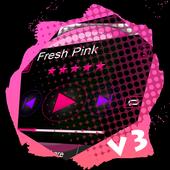 Fresh Pink PlayerPro Skin icon