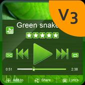 Green snake PlayerPro Skin icon