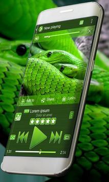 Green snake PlayerPro Skin poster