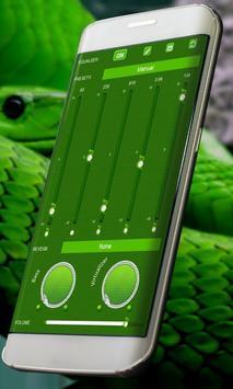 Green snake PlayerPro Skin screenshot 12