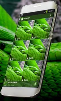 Green snake PlayerPro Skin screenshot 8