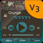 Grunge PlayerPro Skin icon