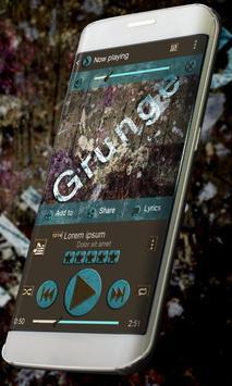 Grunge PlayerPro Skin poster