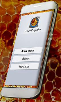 Honey PlayerPro Skin apk screenshot