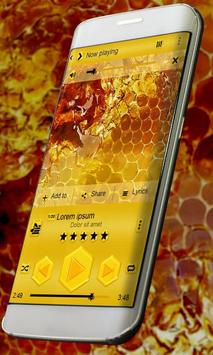 Honey PlayerPro Skin poster