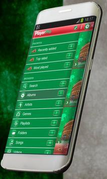 Italy PlayerPro Skin apk screenshot
