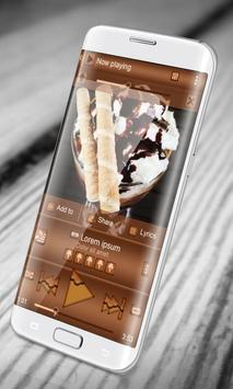 Ice Cream PlayerPro Skin apk screenshot