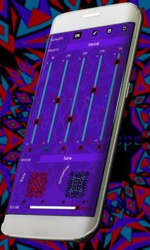 Kaleidoscope Music Player Skin apk screenshot