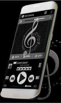 Leather PlayerPro Skin apk screenshot