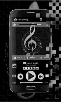 Leather Music Theme apk screenshot