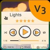 Lights Music Player Skin icon