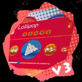 Lollipop PlayerPro Skin icon