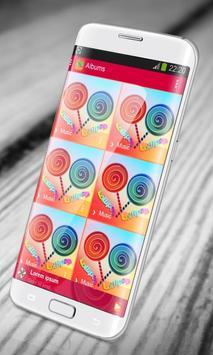 Lollipop PlayerPro Skin screenshot 11