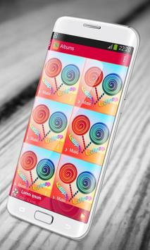 Lollipop PlayerPro Skin screenshot 3