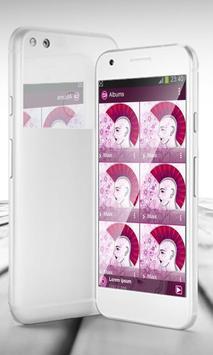 Pink punk PlayerPro Skin screenshot 3