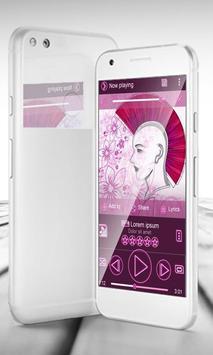 Pink punk PlayerPro Skin poster