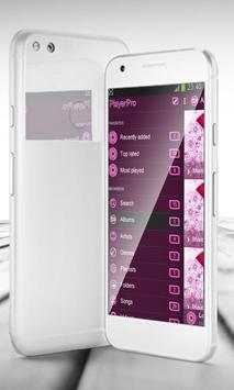 Pink punk PlayerPro Skin screenshot 1