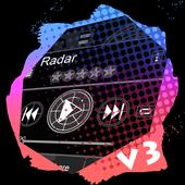 Radar PlayerPro Skin icon
