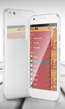 Retro PlayerPro Skin apk screenshot