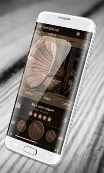 Steampunk PlayerPro Skin apk screenshot