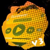 Sunflower PlayerPro Skin icon