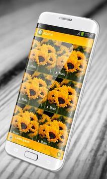 Sunflower PlayerPro Skin screenshot 11