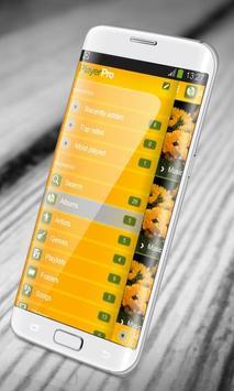Sunflower PlayerPro Skin screenshot 5