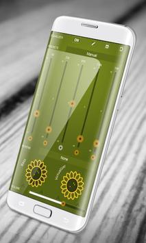 Sunflower PlayerPro Skin apk screenshot