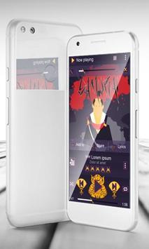 Samurai PlayerPro Skin poster