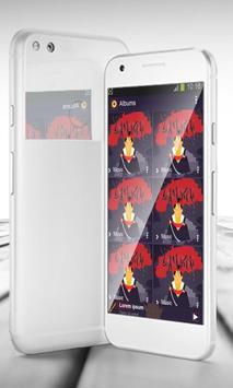 Samurai PlayerPro Skin apk screenshot
