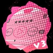 Simple pink PlayerPro Skin icon