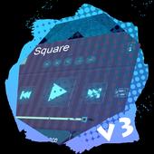 Square PlayerPro Skin icon