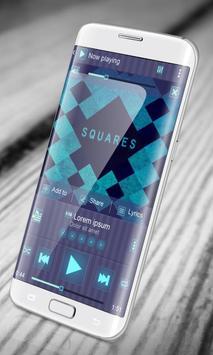 Square PlayerPro Skin poster