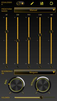 SKIN PLAYERPRO FUTURA YELLOW apk screenshot