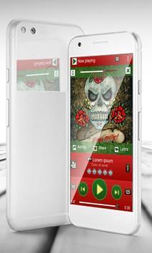 Tattoo PlayerPro Skin apk screenshot