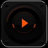 PlayerPro TechnoOrange Skin icon