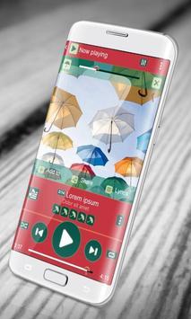 Umbrella PlayerPro Skin poster