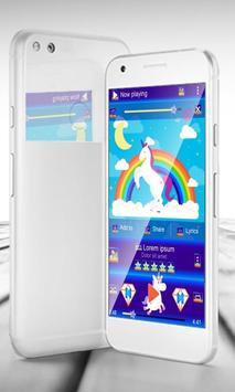 Unicorn PlayerPro Skin poster