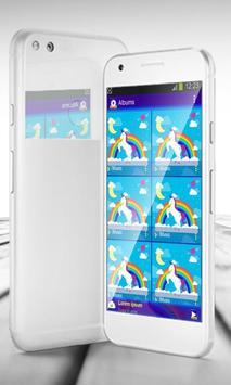Unicorn PlayerPro Skin apk screenshot