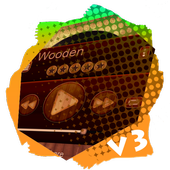 Wooden PlayerPro Skin icon