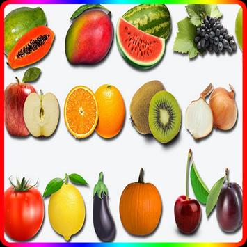 Learn Fruit and Vegetables Toys poster