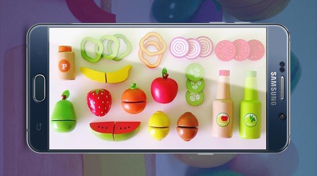 Learn Colors Vegetables Toys apk screenshot