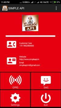 SIMPLE API poster