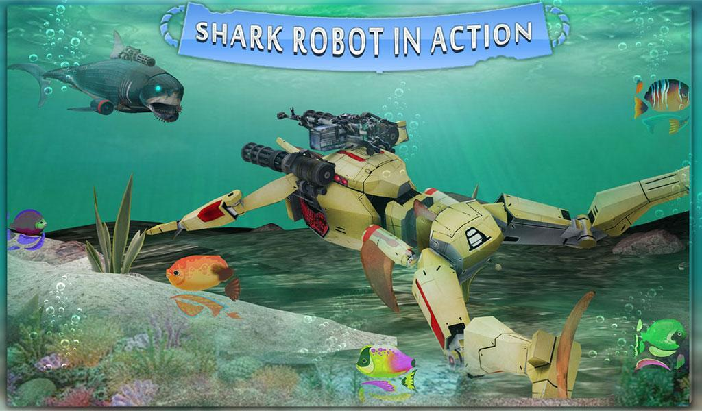 Podwodny robot polowanie rekin for Android - APK Download
