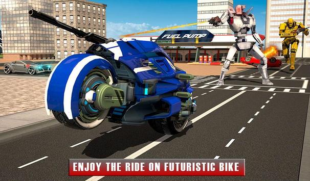 Bike Chase Robot Simulator screenshot 16