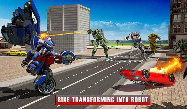 Bike Chase Robot Simulator screenshot 17