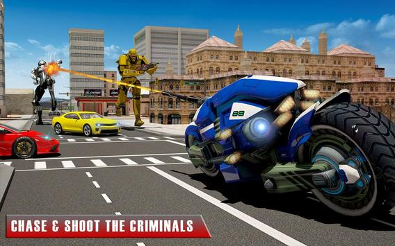 Bike Chase Robot Simulator screenshot 7