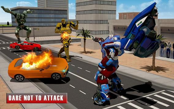 Bike Chase Robot Simulator screenshot 9