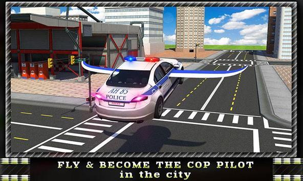 Flying Car Police Chase apk screenshot