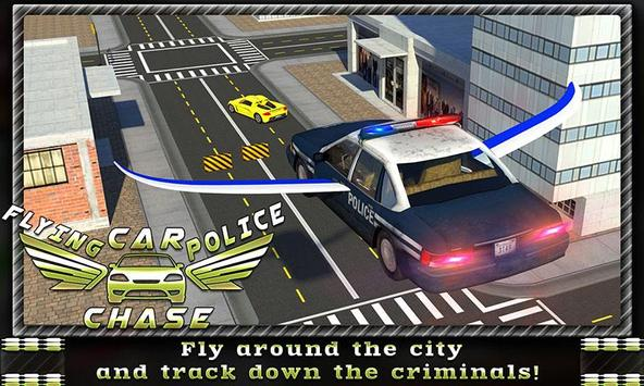 Flying Car Police Chase poster
